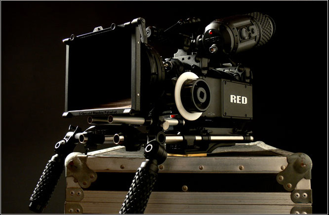 The 4k red one digital cinema camera